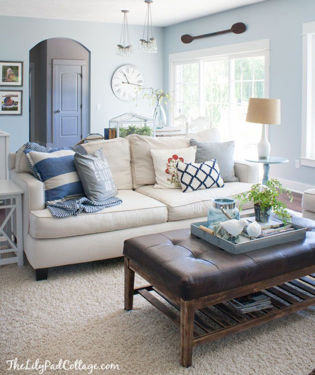 Living Room Wall Colours Pinterest: Inspired Spaces: Freshen Up For Summer.