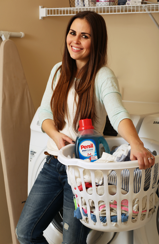 laundry with persil