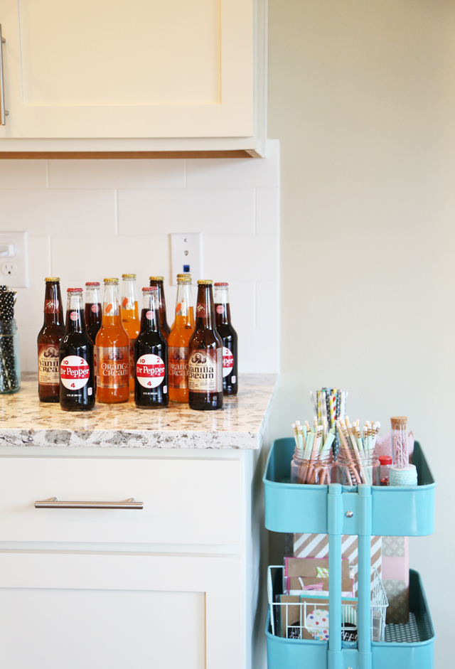 soda bar for a party