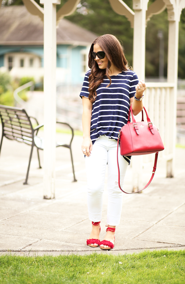 red white and blue 4th outfit
