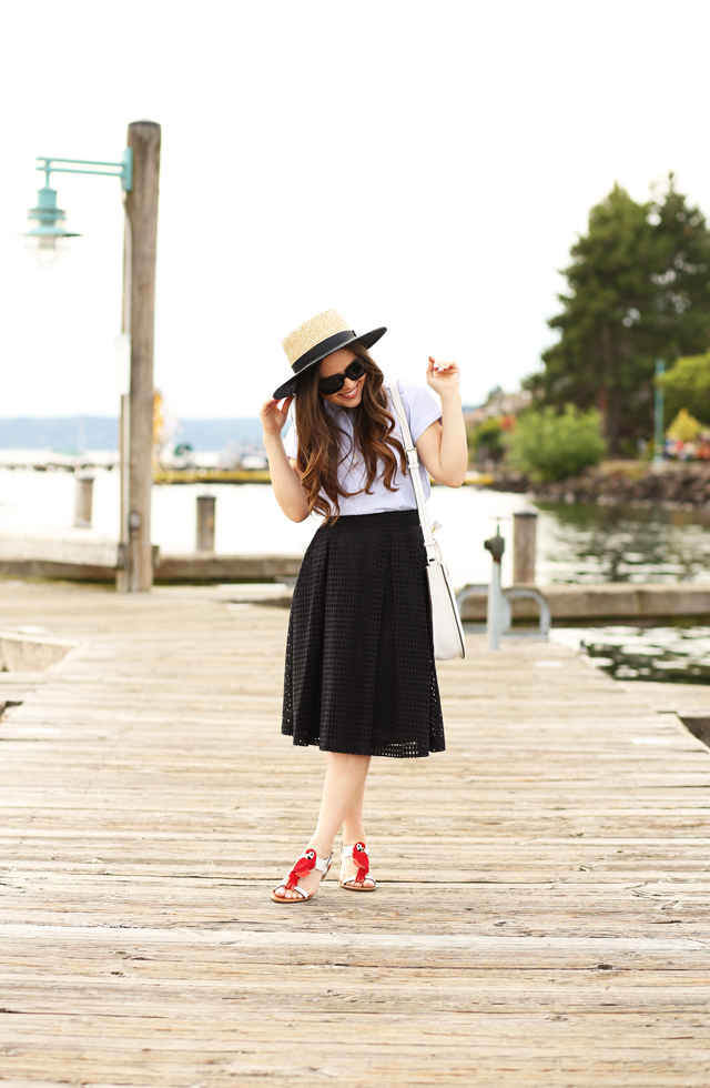 summer shoes with kate spade