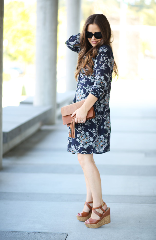 casual dress with wedges 3