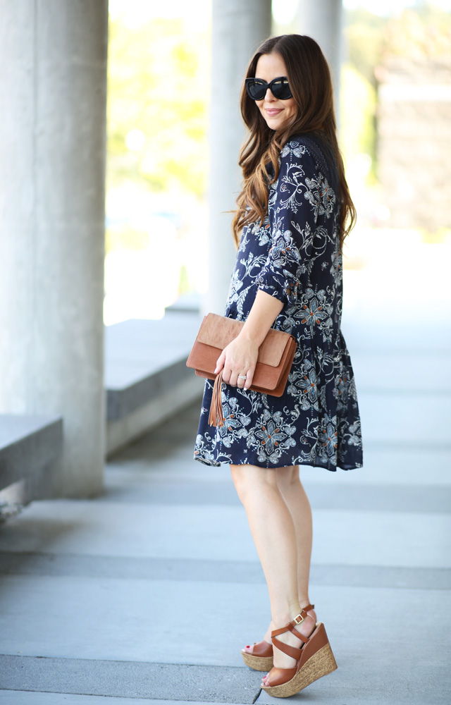 casual dress with wedges 5