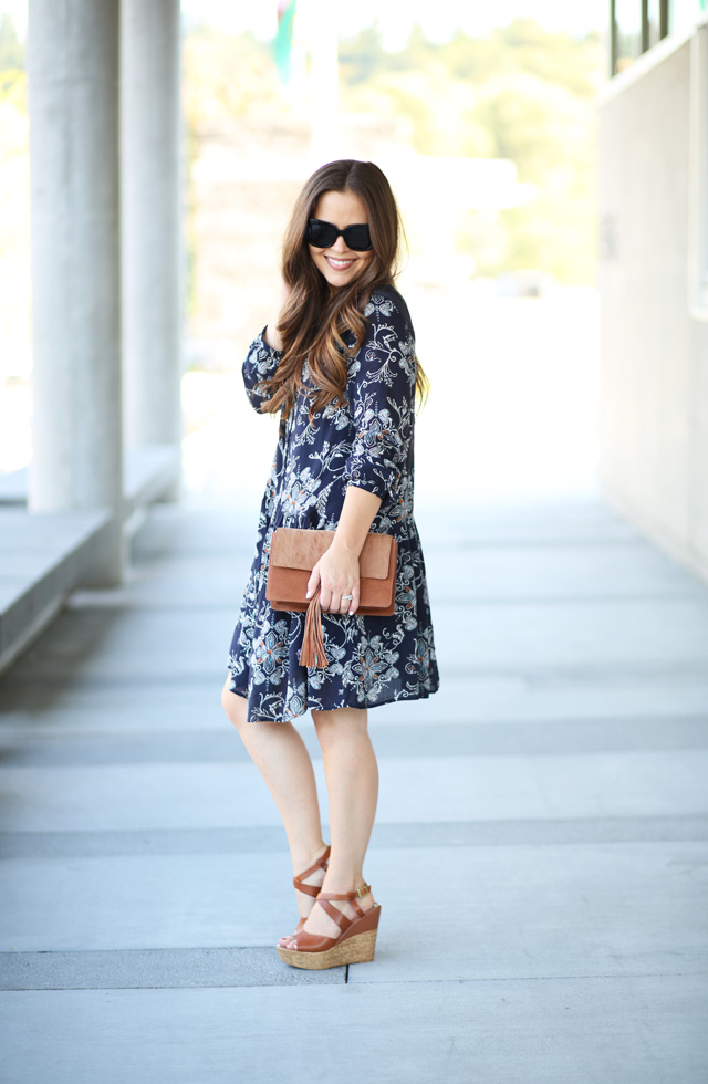 casual dress with wedges 6