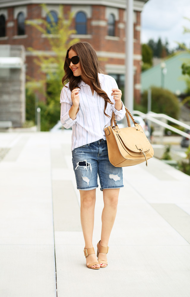shorts with wedges