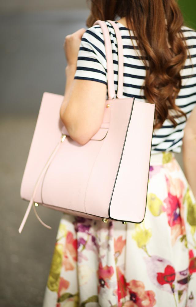 pink rebecca minkoff bag purse