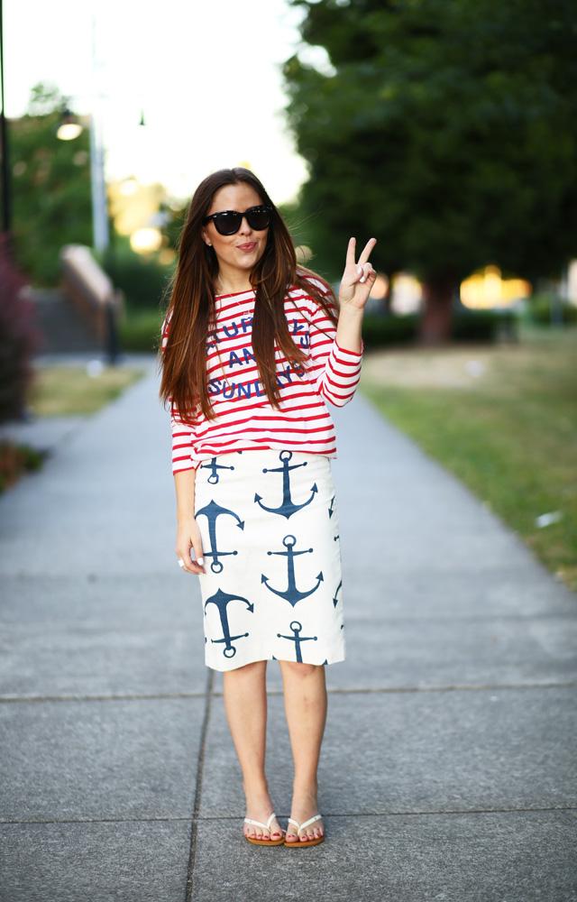 Patriotic Weekend Dress Cori Lynn
