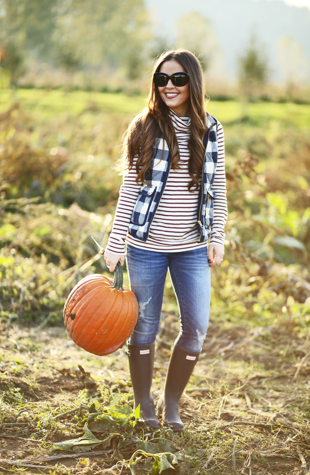 easy fall layered outfit