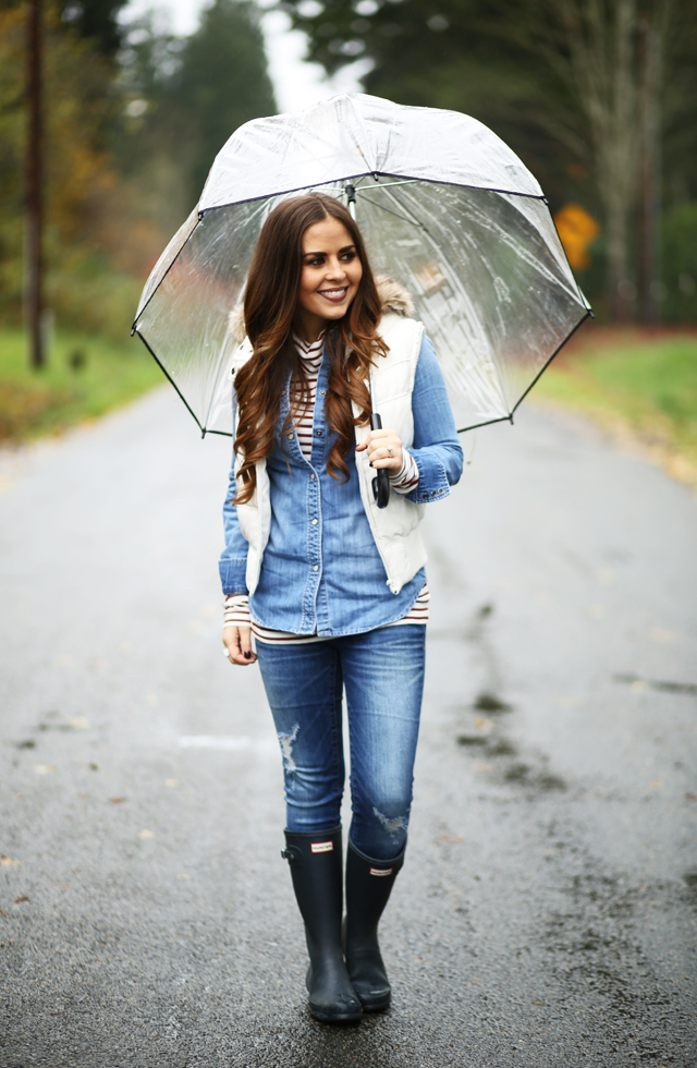 umbrella and layers