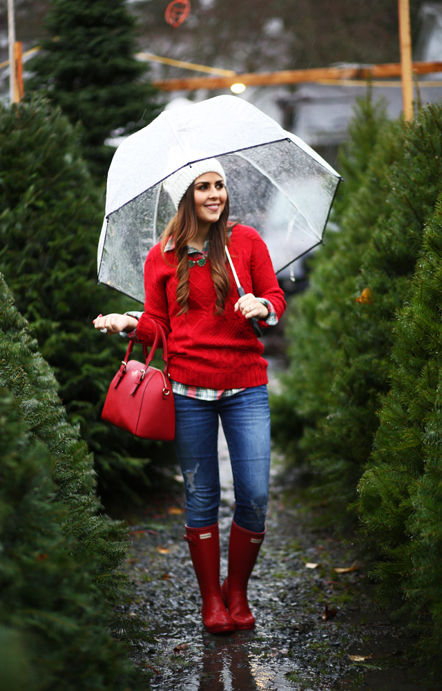 casual christmas outfit red sweater plaid shirt - Christmas Plaid Shirt