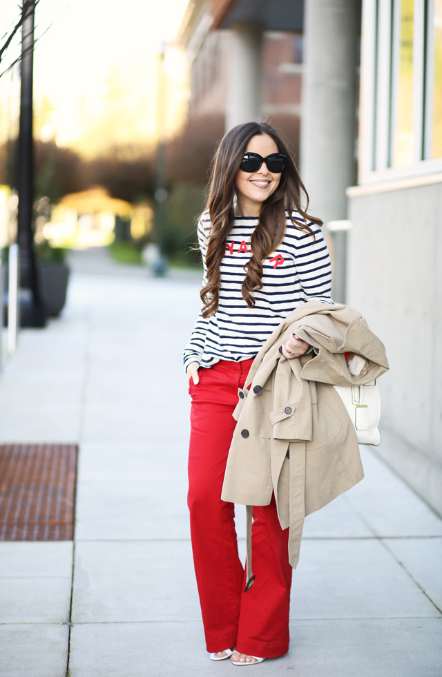 classic nautical outfit