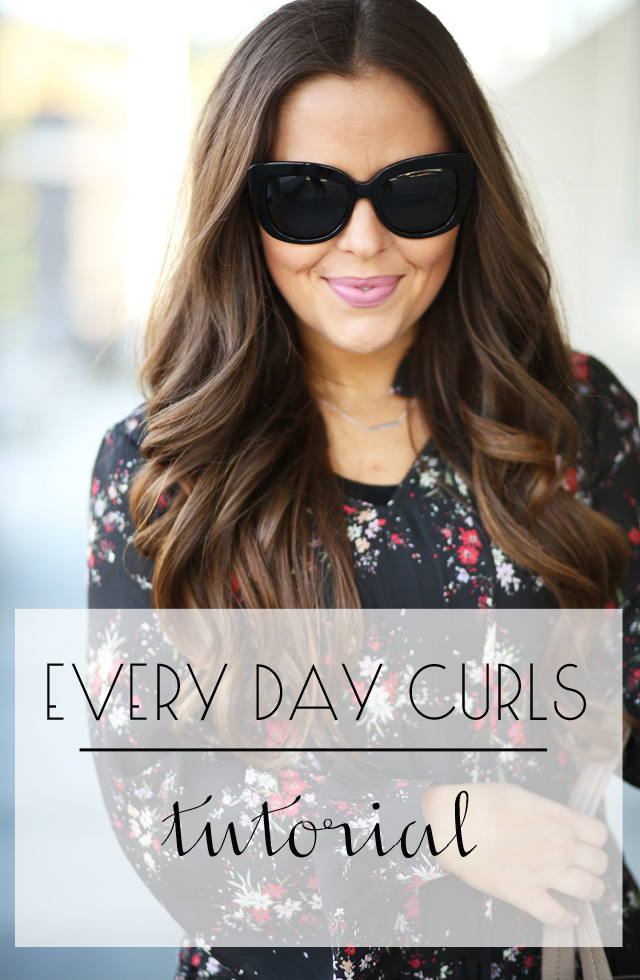 everyday curls tutorial