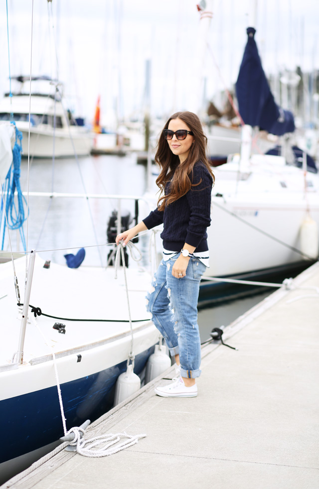 perfect sailing outfit