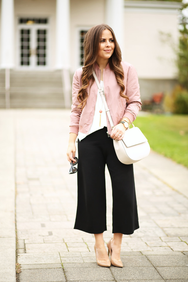 4 tips for wearing culottes when you're petite.