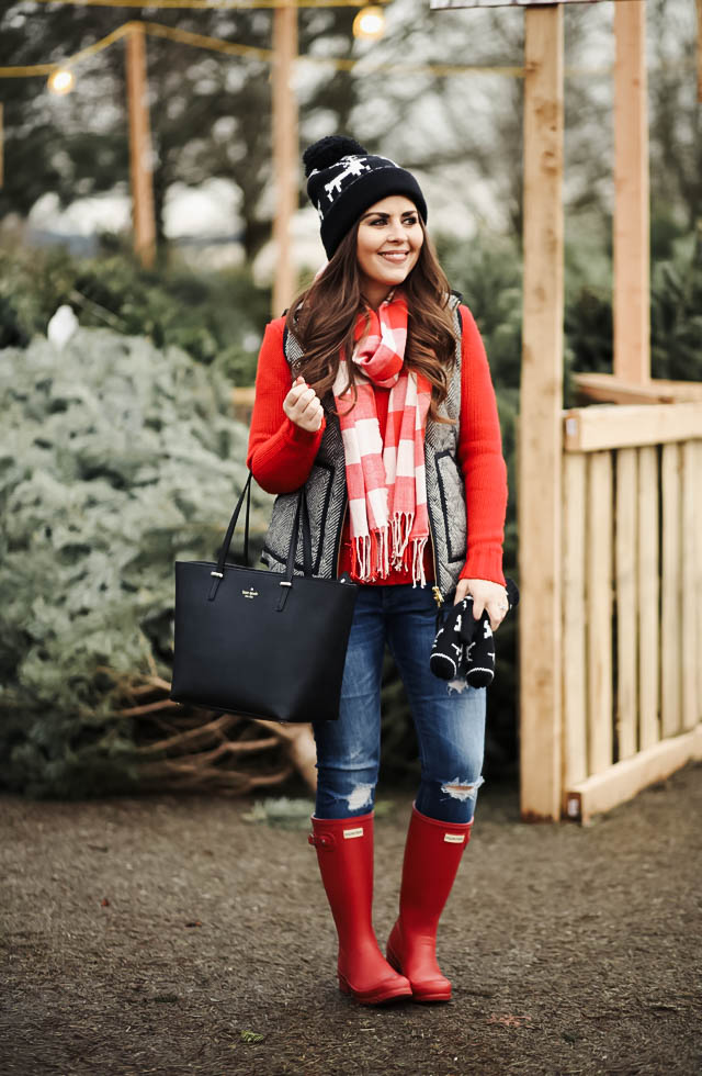 fun-red-buffalo-check-scarf-1