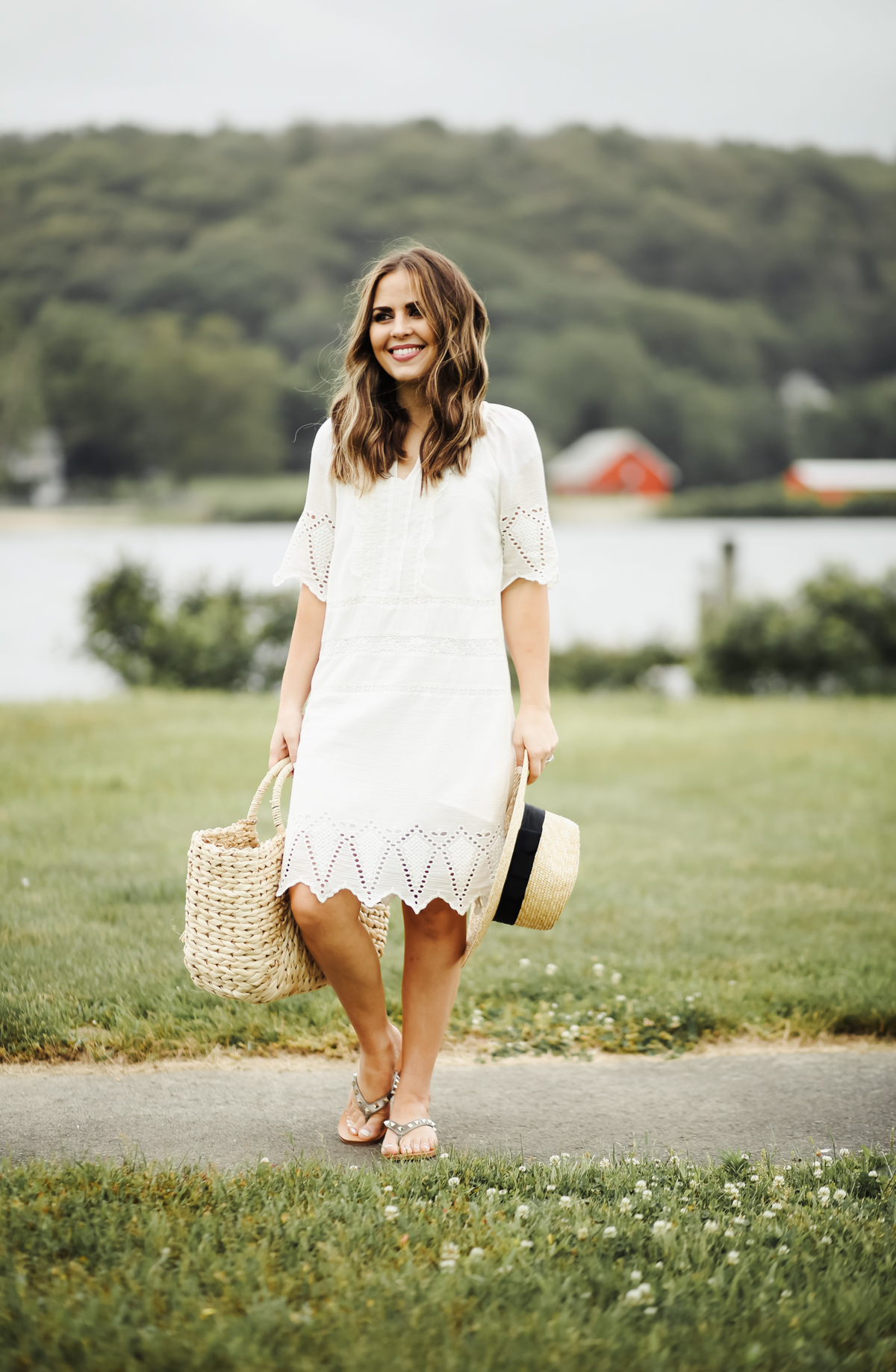 4d401e8d5894 white eyelet summer dress -1 - dress cori lynn