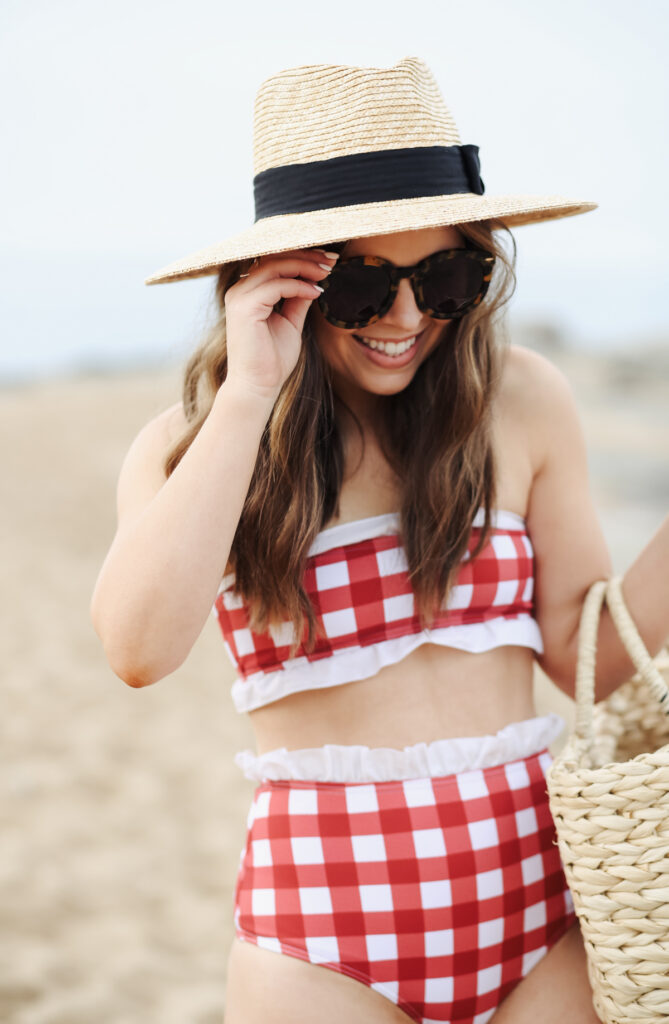 19f25732942 Then when I stumbled upon this adorable red gingham one