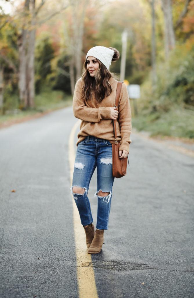 ccbedc7c6f 4 tips for styling oversized sweaters. - dress cori lynn