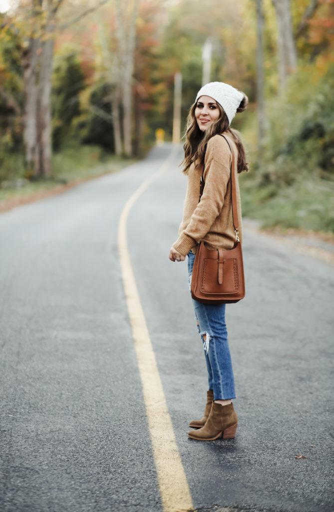 f34fd7009a 4 tips for styling oversized sweaters. - dress cori lynn