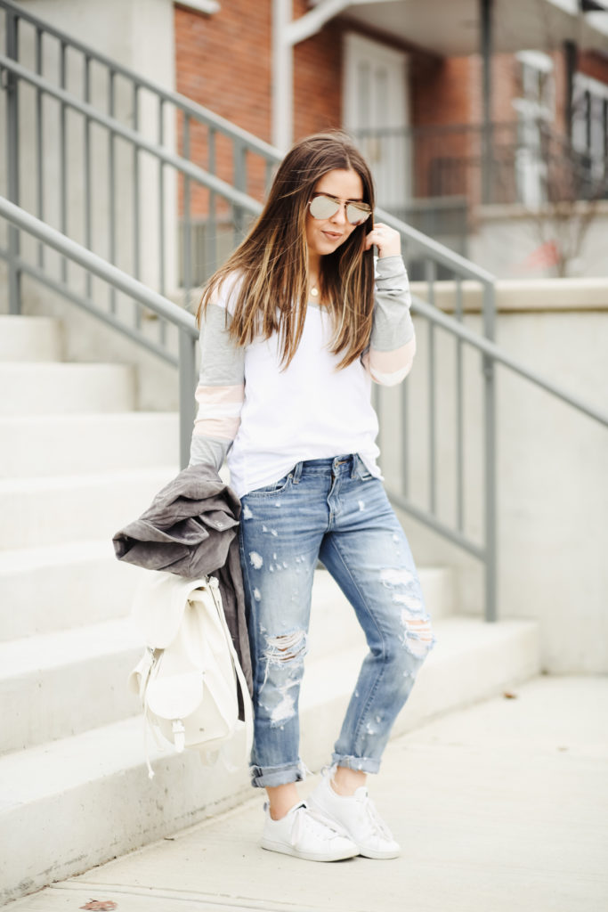 759ab1b47a secrets to styling boyfriend jeans like a pro. - dress cori lynn