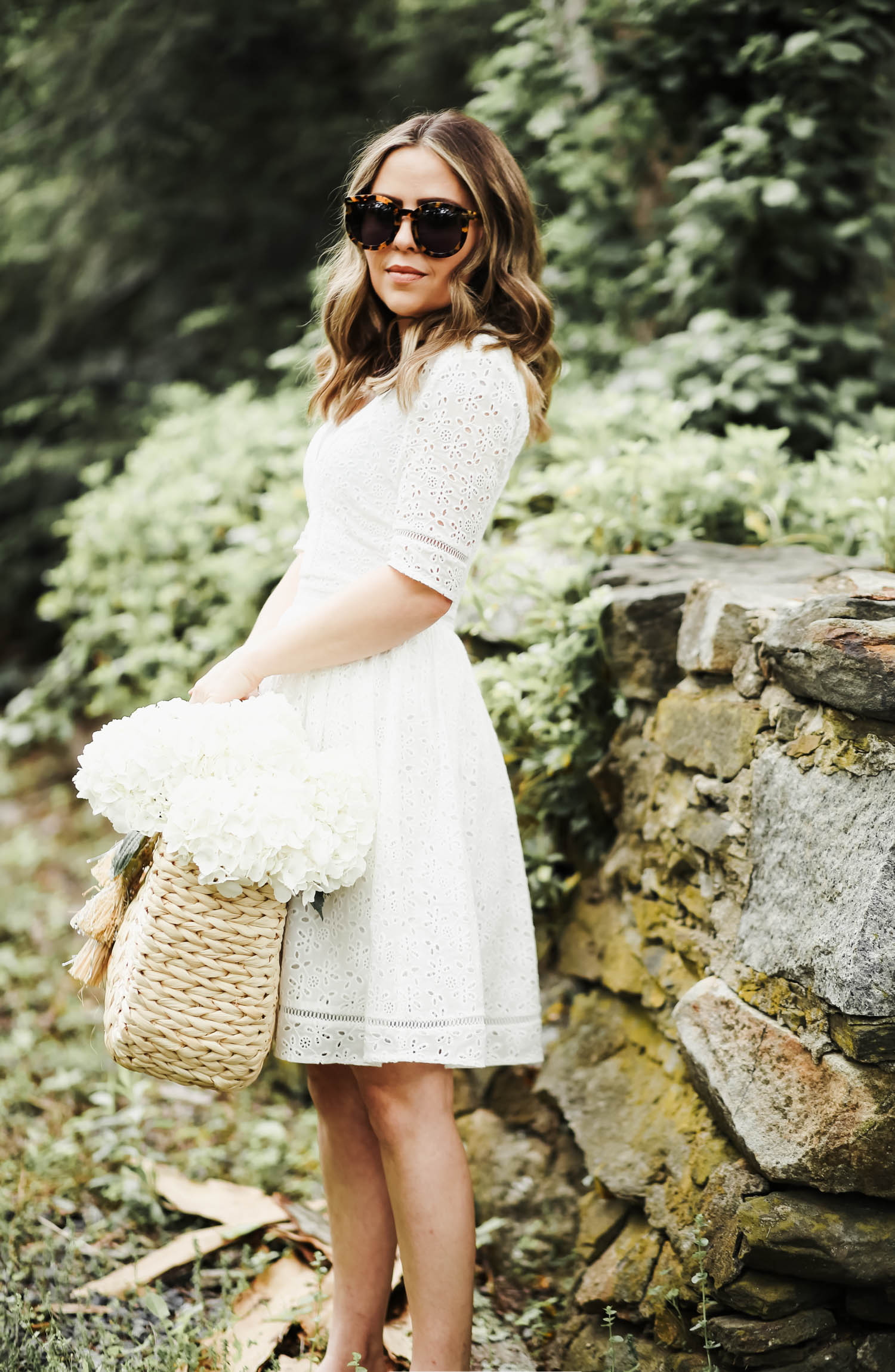 2f5e6708fb60 little white eyelet dress. - dress cori lynn