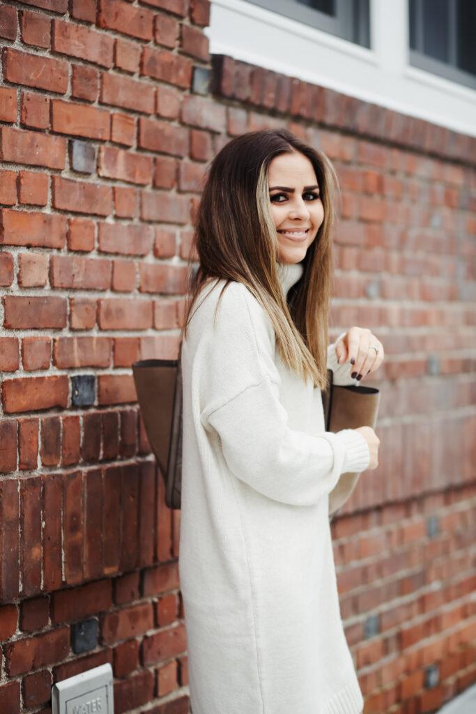 f900811c03f5 the perfect fall sweater dress.