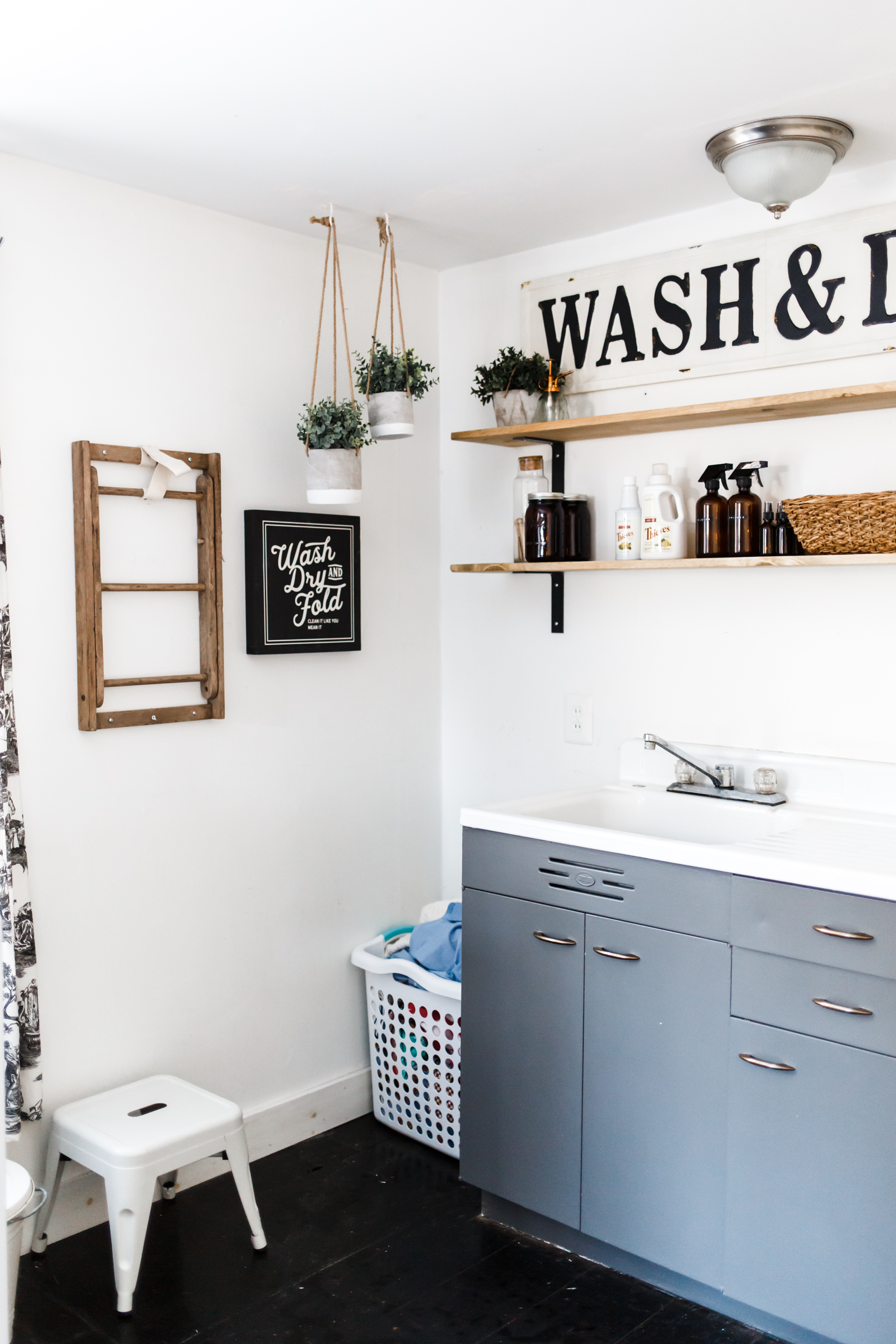 Modern Farmhouse Mudroom Makeover 8 Dress Cori Lynn