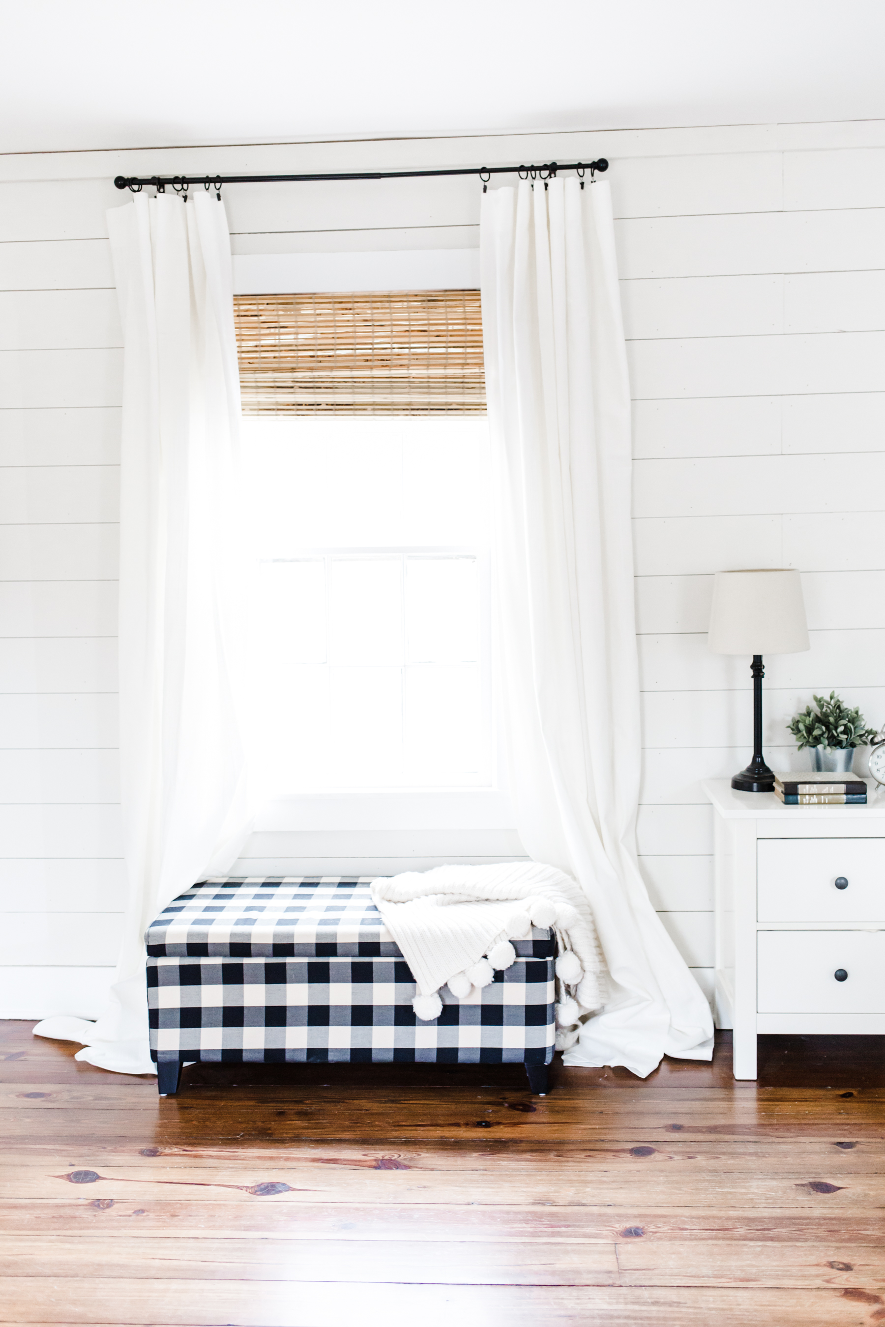 How To Transform A Space With Window Treatments And My Favorite Farmhouse Combination Dress Cori Lynn